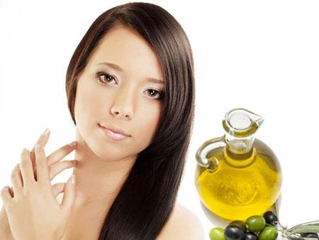 Мягкий уход оливкового масла за волосами