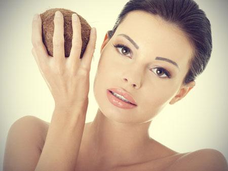применение кокосового масла в масках для лица