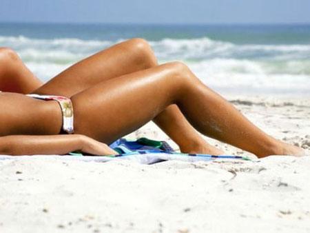 кокосовое масло защищает от солнечных ожогов