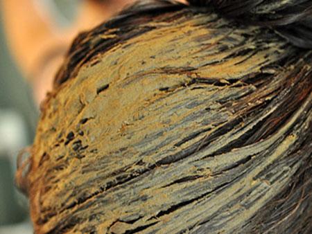 маска из глины для волос
