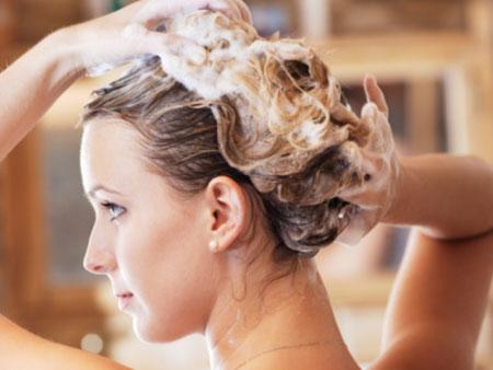 мытье волос яичным шампунем