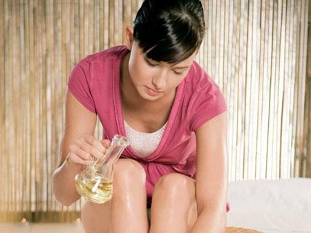 применение оливкового масла для тела