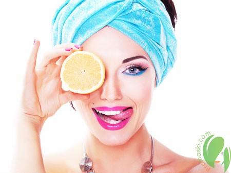 Осветление волос лимонным соком