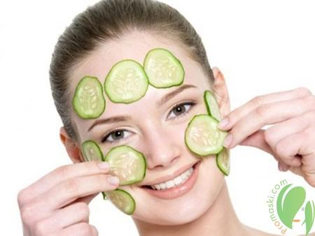 Лучшие огуречные маски для красоты и свежести лица