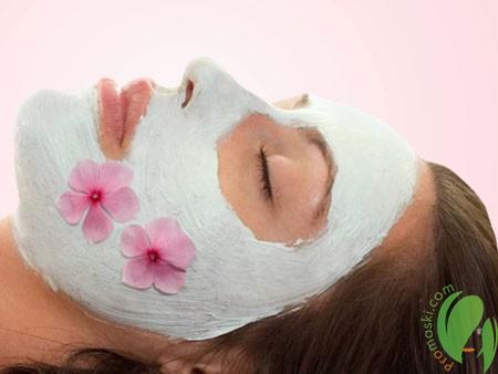 маска для лица со сметаной