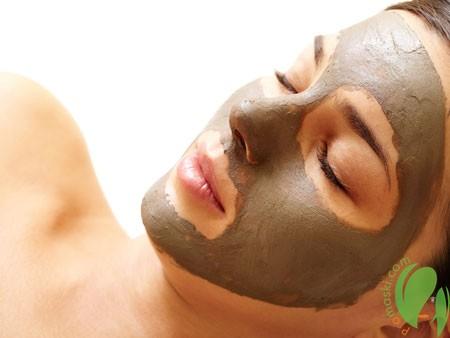 маска из глины от морщин