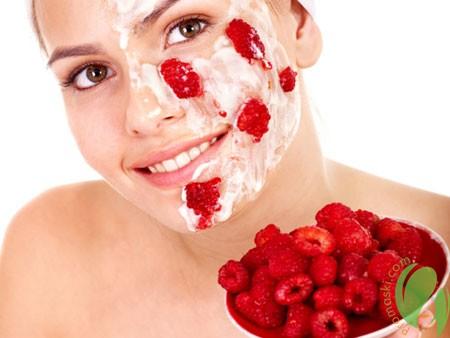 маска из малины для лица