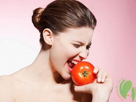 Маска из помидоров для лица: помидорная смесь для кожи