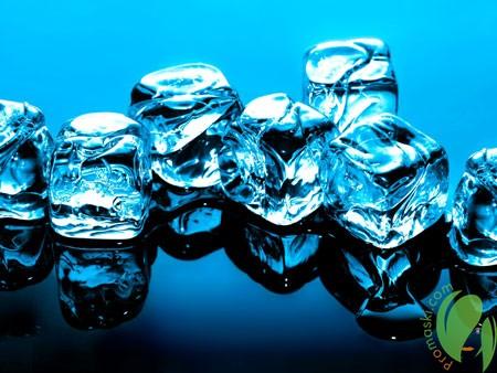 лед тонизирует кожу