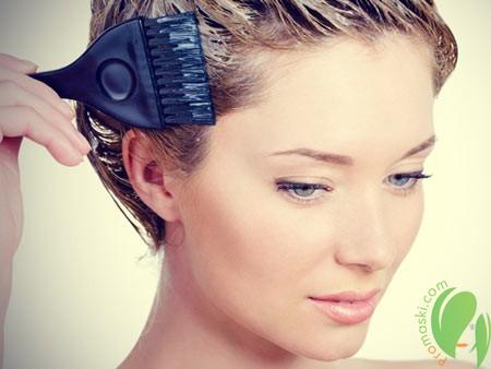 осветление волос с помощью гидроперита