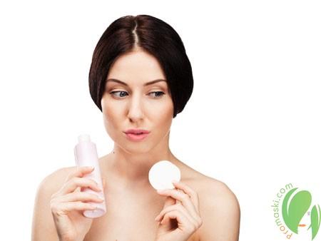 Использование перекиси водорода для очищения лица