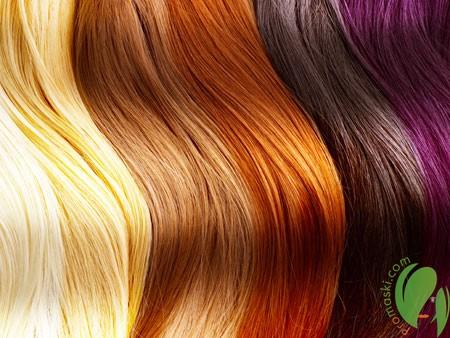 разные оттенки волос