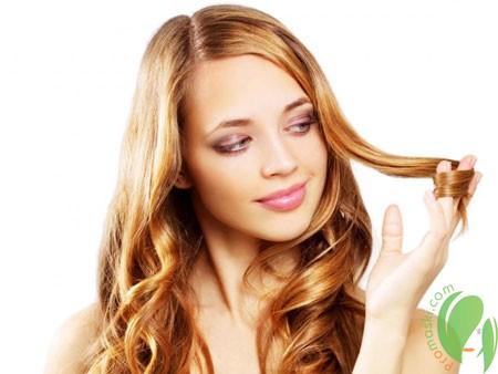 волосы после применения масла иланг иланг