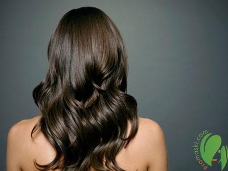 Экранирование для силы и блеска волос
