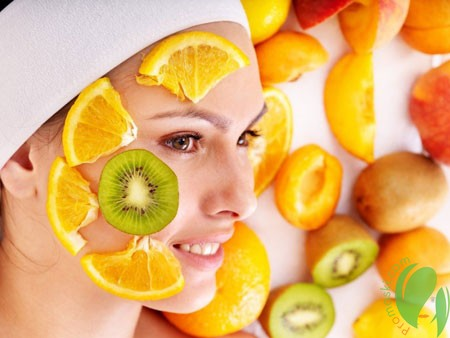 Применение фруктовых масок для красоты кожи