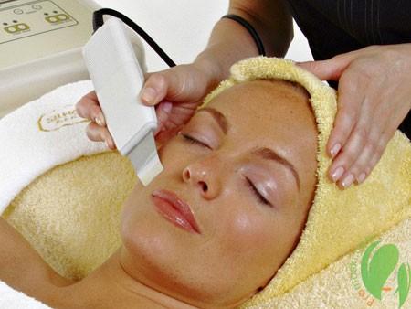 очищение кожи ультразвуком