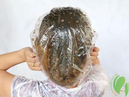 применение маски с касторовым маслом