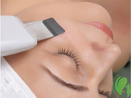 Высокоэффективная чистка лица с помощью ультразвука