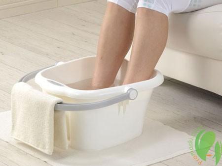 ванночка с содой против грибка