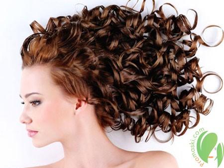 волосы после химической завивки