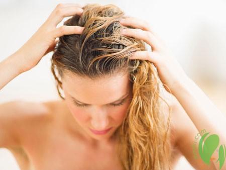 Безупречная шевелюра с домашним пилингом для кожи головы