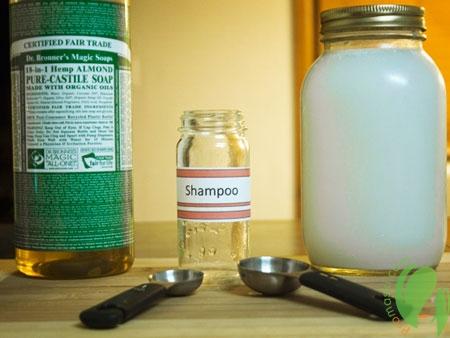 шампунь от жирности волос в домашних условиях