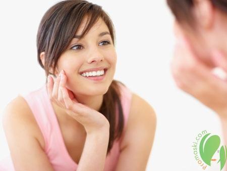 здоровая кожа после нанесения ланолинового крема