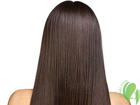 блестящие и здоровые волосы