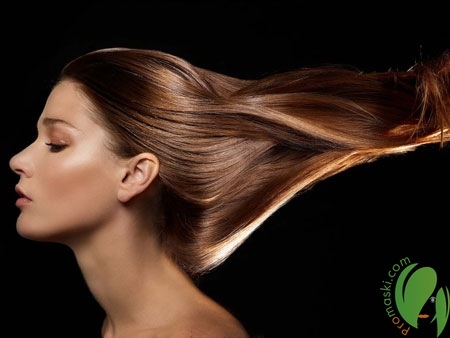 Блестящие и гладкие волосы с помощью целебных масок