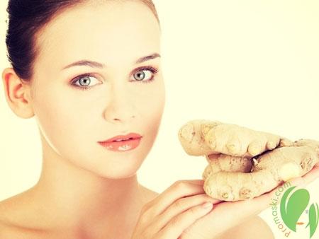 Целебные свойства имбиря для красоты волос и кожи