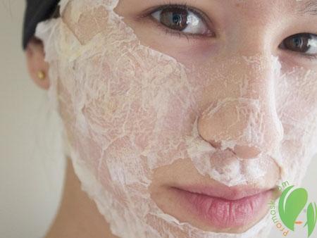 маска для лица из белка