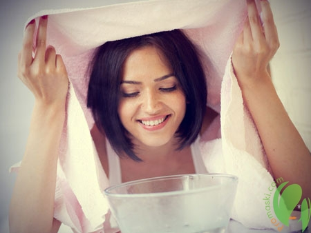 Распаривание лица для эффективного очищения кожи