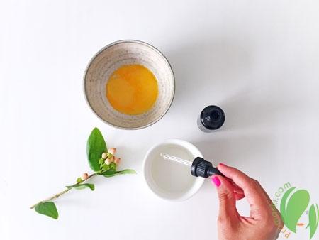 яичная маска для блеска волос