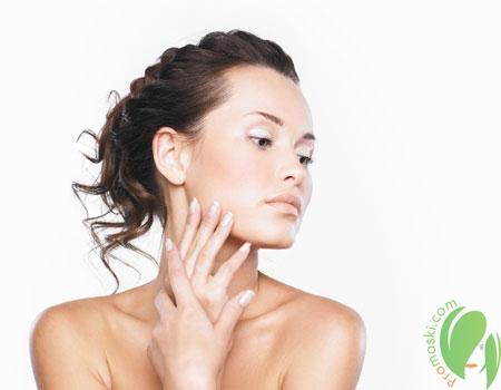 чистая кожа после маски-гоммаж