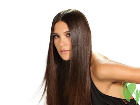 гладкие волосы после лаврового масла