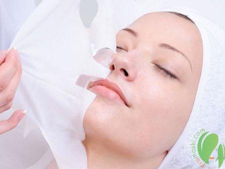 Антивозрастной коллагеновый уход за кожей лица