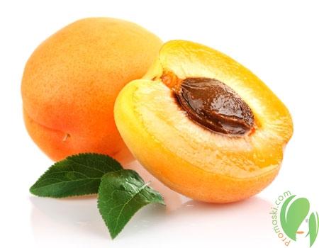 абрикос в разрезе