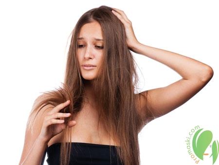 Как решить проблему сухих кончиков волос?