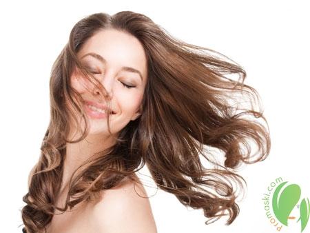 волосы после применения масла герани