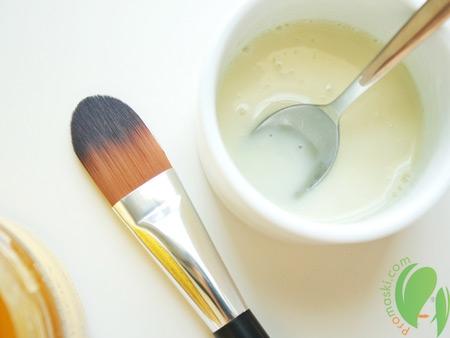 маска для проблемной кожи с йогуртом