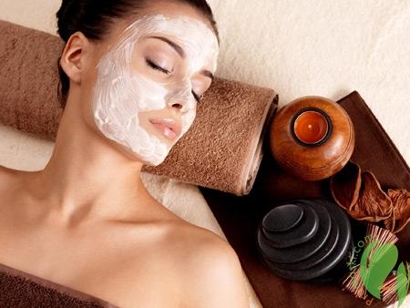 маска против морщин на лице