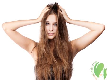 Маски для лечения сухости и шелушения кожи головы
