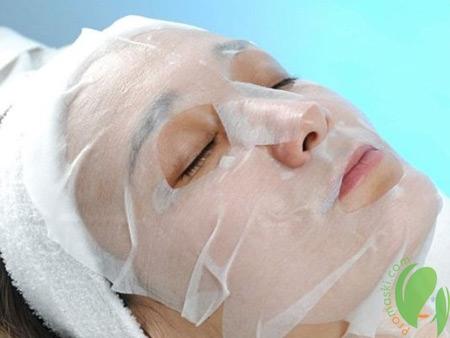 тканевая японская маска