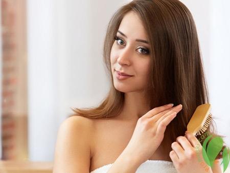 волосы после ополаскивания