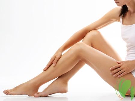 гладкая кожа после депиляционного крема