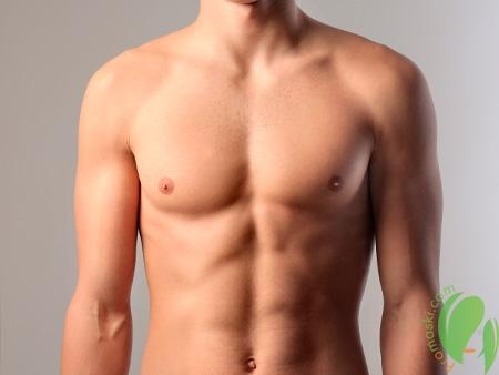 мужская грудь после депиляции